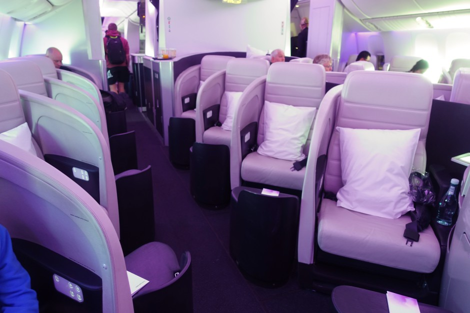 Review: Air New Zealand 777-200 Business Class