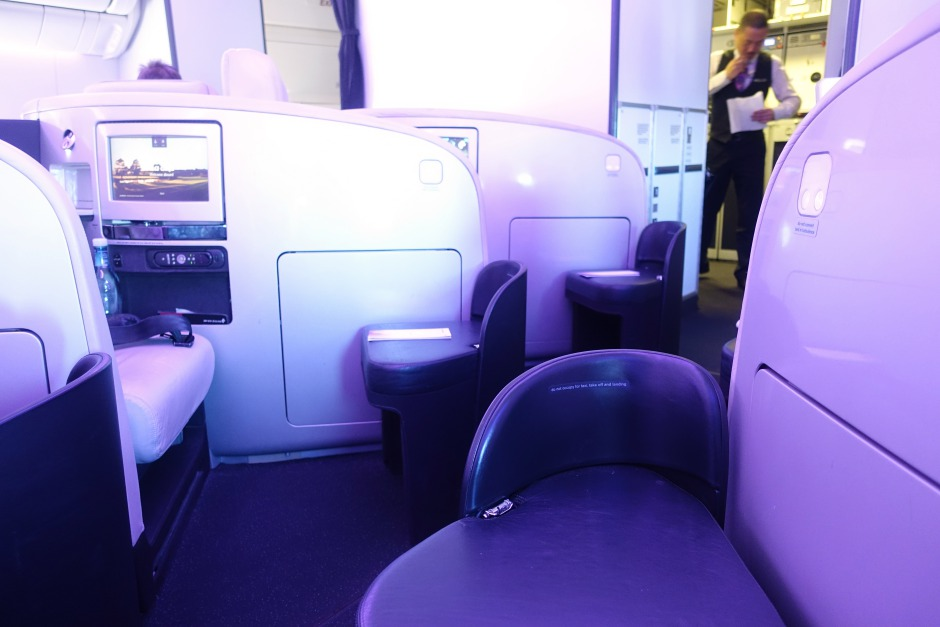 Air New Zealand Business Premier Ottoman