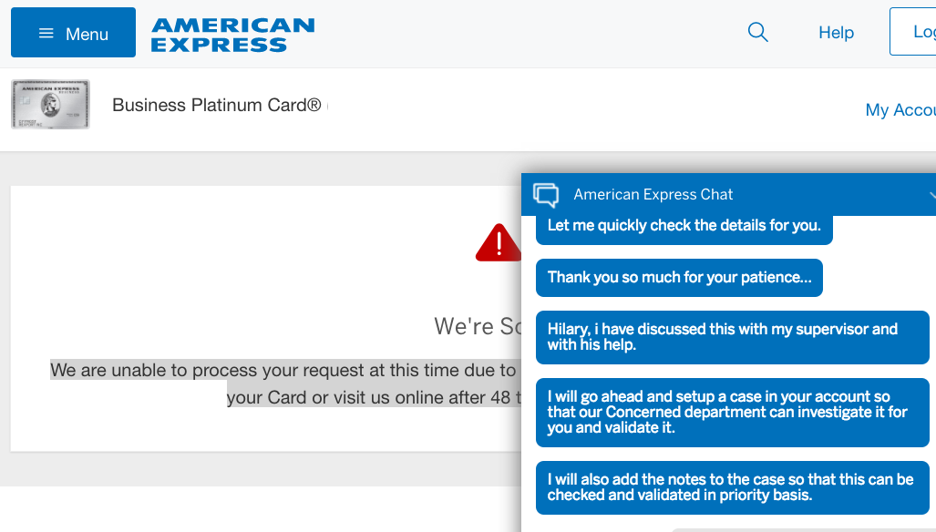 AMEX Customer Service: A Very Mixed Bag