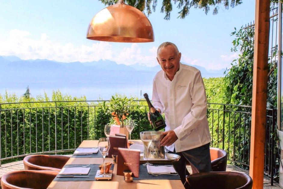 Review la table d edgard at lausanne palace for Atelier cuisine lausanne