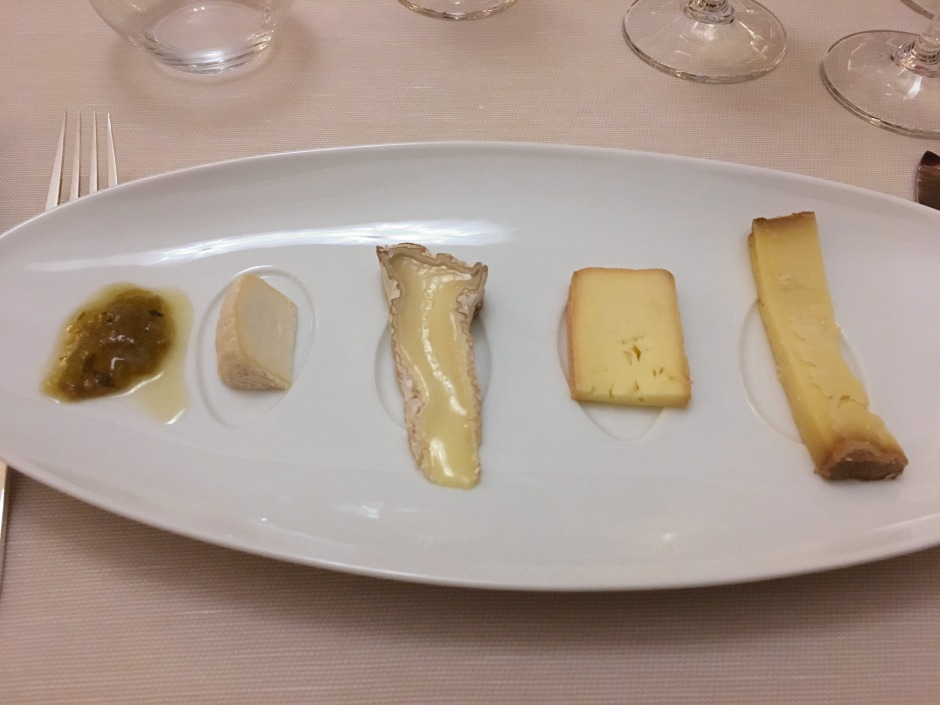 Fresh and Matured Cheeses, La Table d'Edgard Review, Lausanne