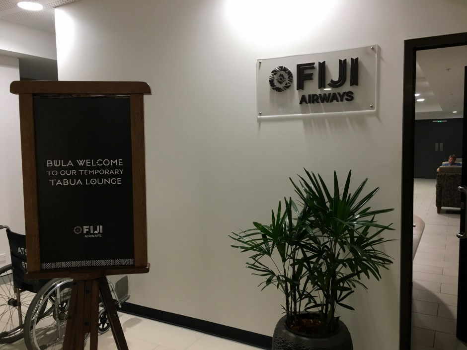 Fiji Airways Lounge Nadi Airport Review