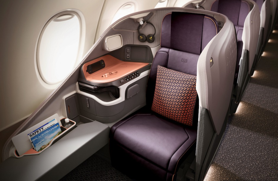 New Singapore Business Class, A380