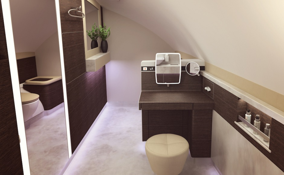 New Singapore Suites Lavatory with Vanity