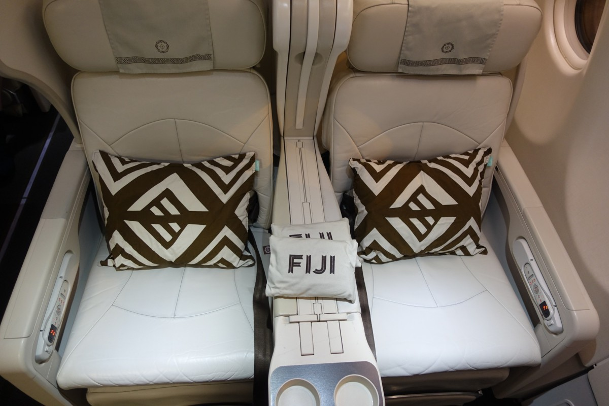 Fiji Airways Business Class Seat Review