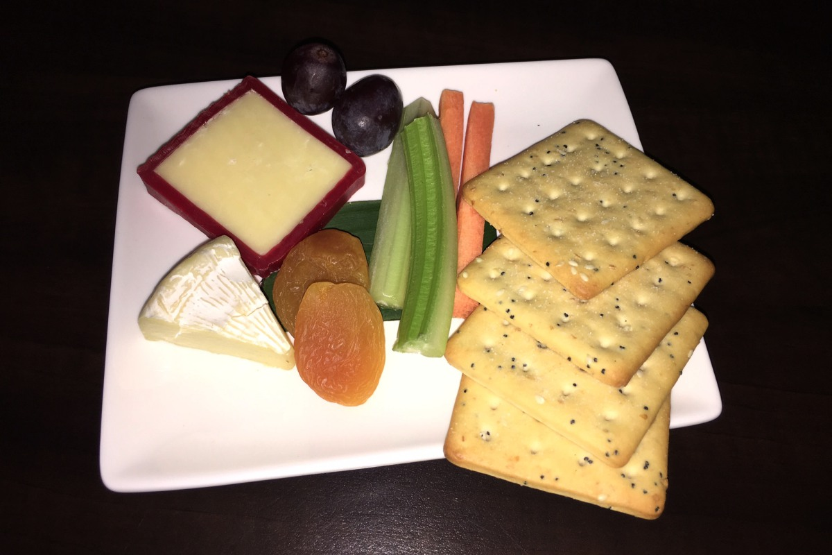 Cheese Plate, Fiji Airways Business Class Review