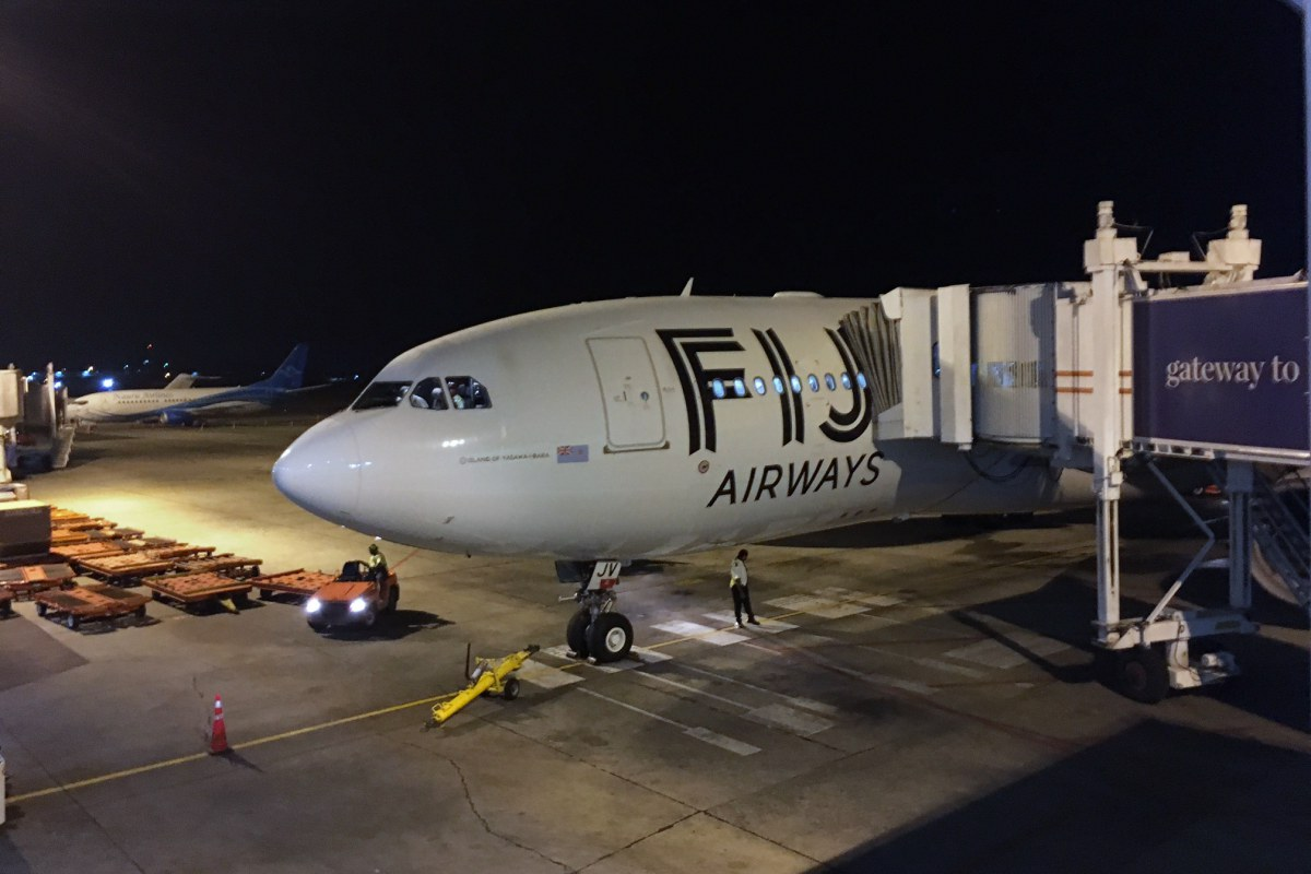 Fiji Airways A330-200 Review, Nadi to LAX