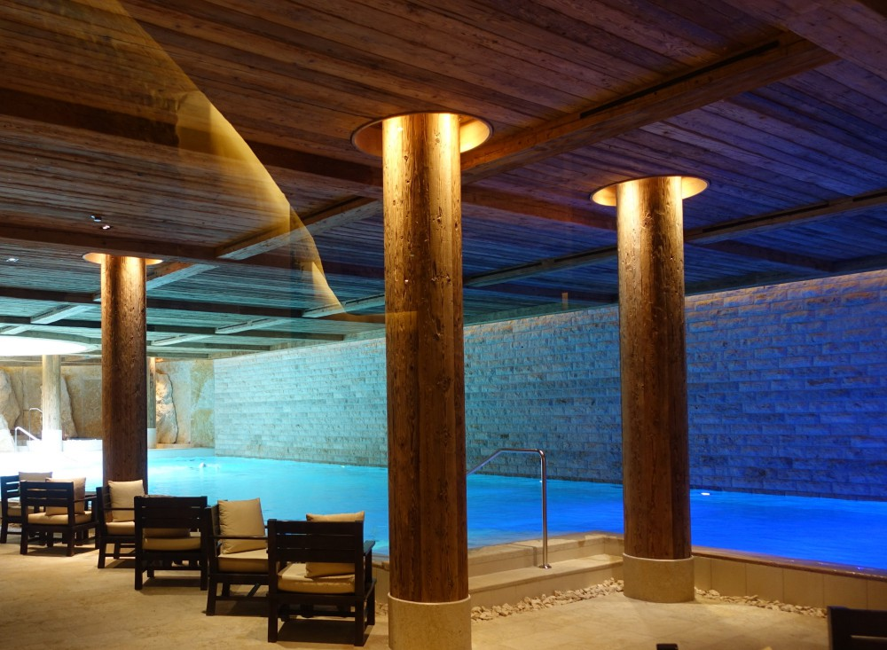 Indoor Pool, The Alpina Gstaad