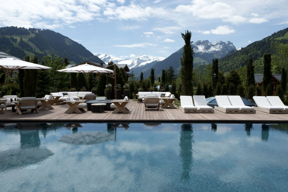 Outdoor Pool, The Alpina Gstaad
