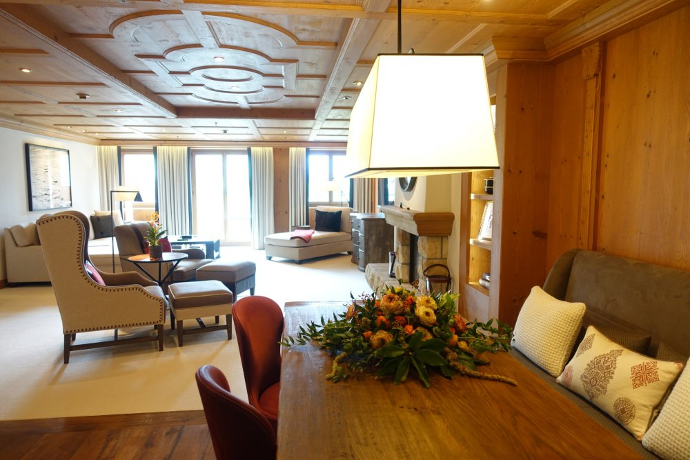 Grand Luxe Suite, The Alpina Gstaad