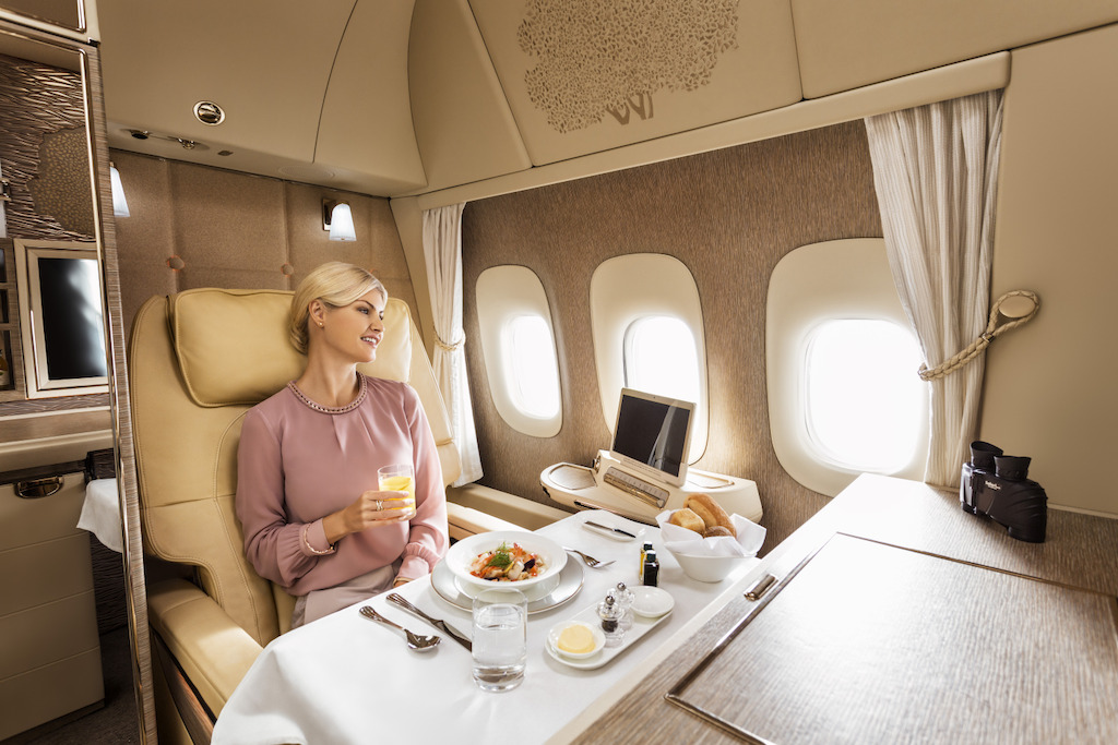 Emirates New First Class Suite, 777-300ER
