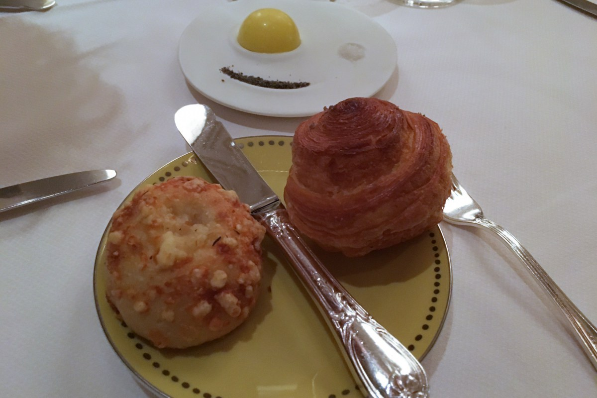 Brioche and Cheese Bread, Daniel NYC Review