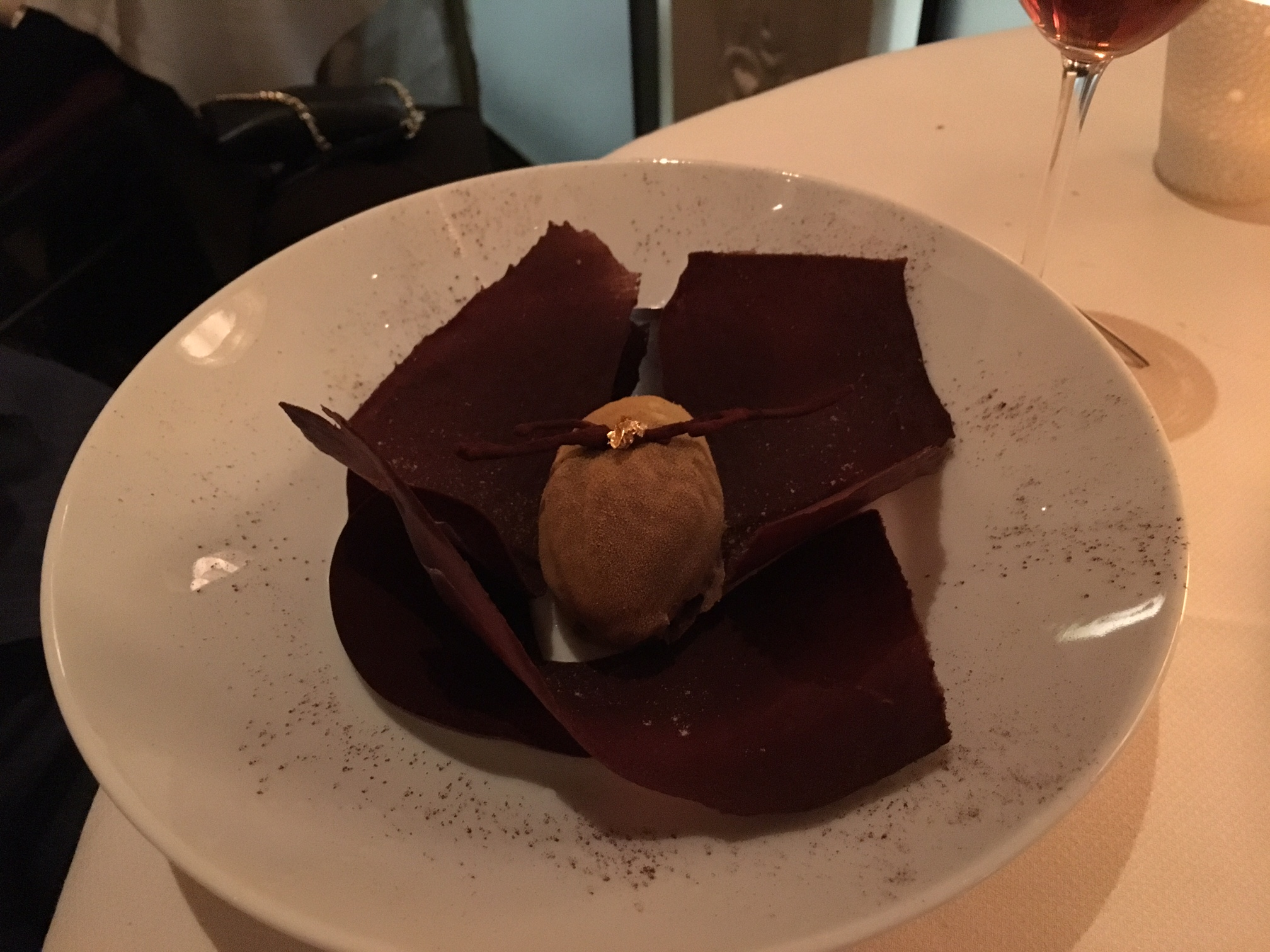 Elvisia Chocolate Dessert, Daniel NYC Review