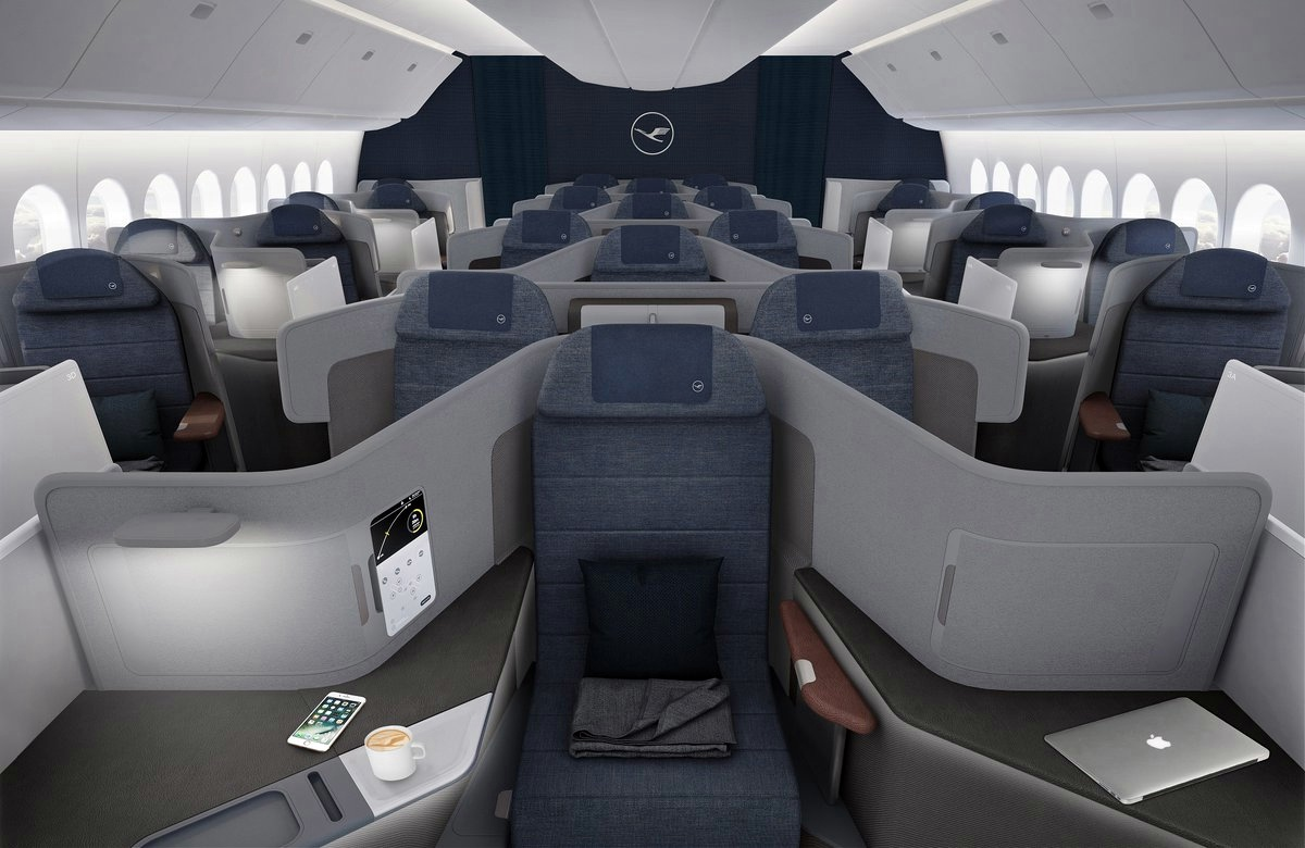 Lufthansa New Business Class, Throne Seat