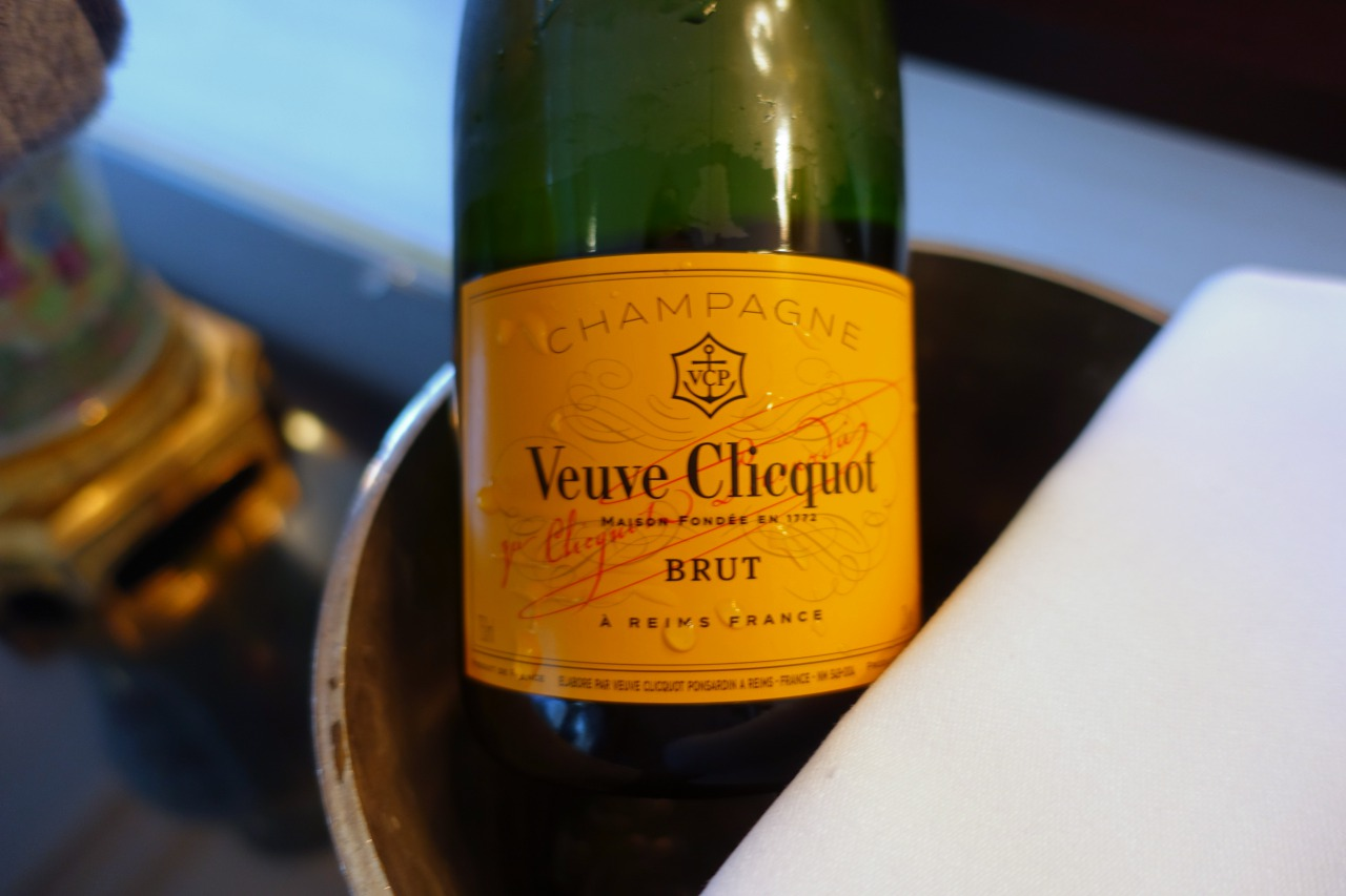Veuve Clicquot Champagne Welcome Amenity