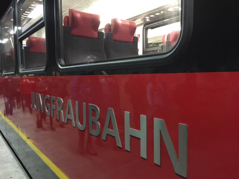 Jungfraubahn: Train to Jungfraujoch