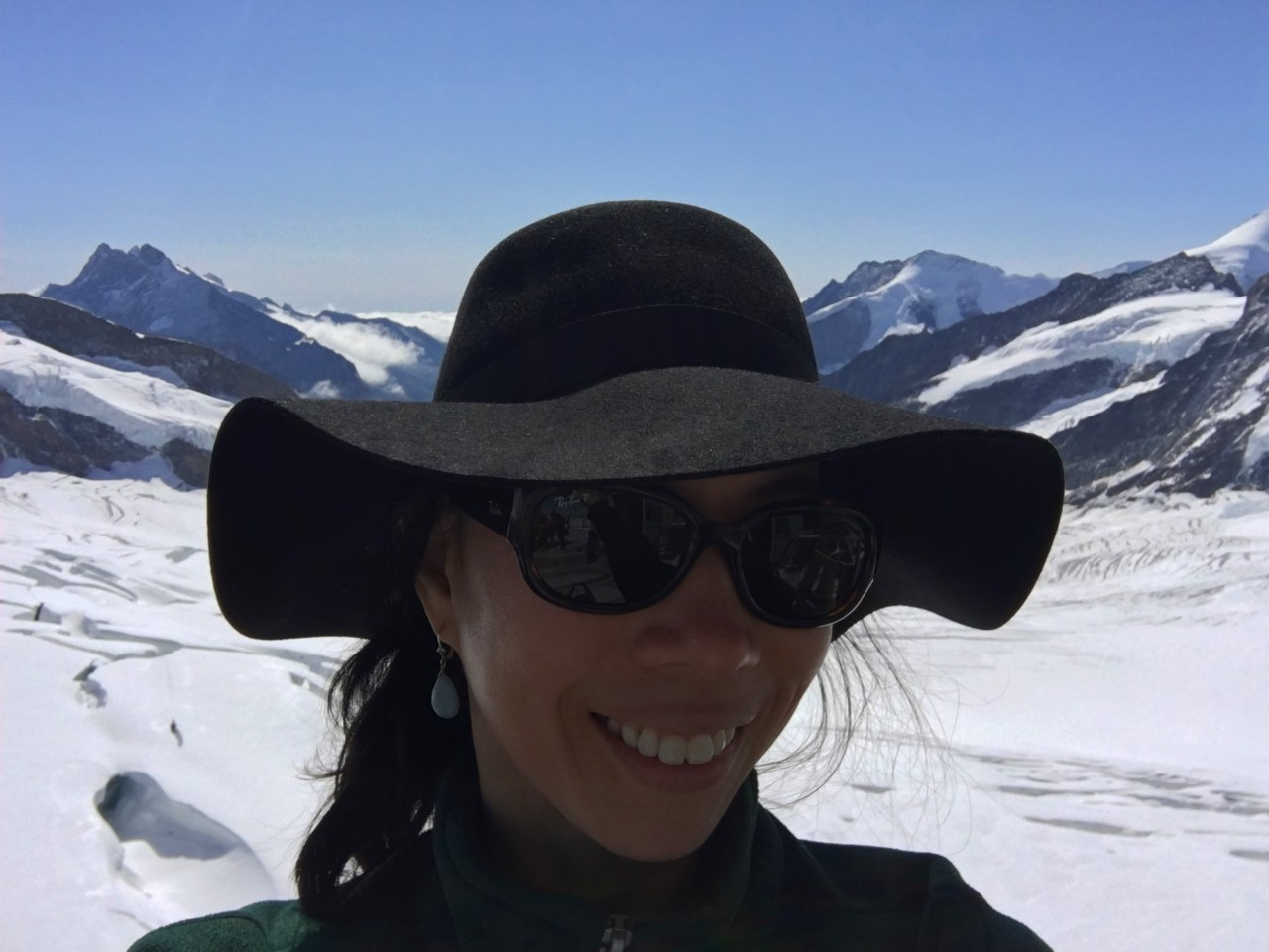 Jungfraujoch Tips: Bring Sunglasses and a Hat