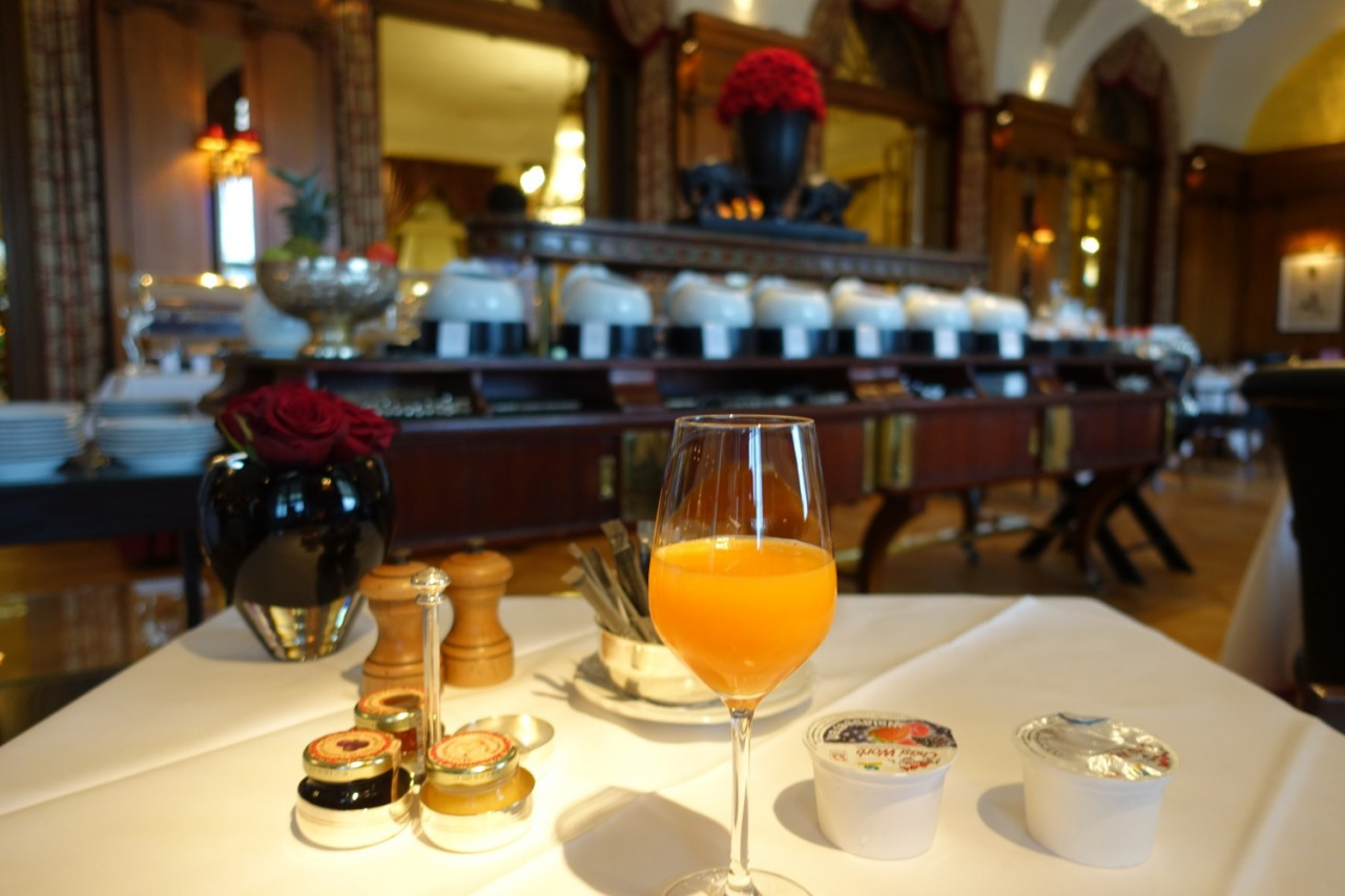 Bellevue Palace Breakfast, Bern, Switzerland