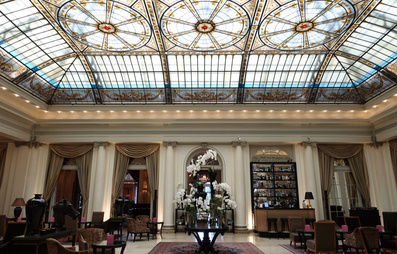 Bellevue Palace Lobby, Bern, Switzerland Review