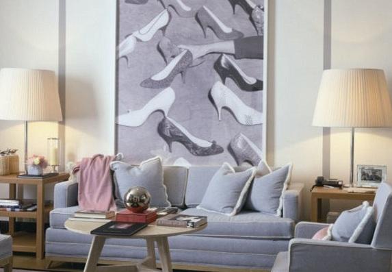 A room at the Portrait Suites, Rome
