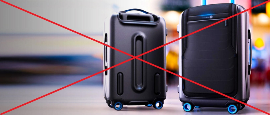 AA, Delta, Alaska Airlines Ban Smart Bags Without Removable Batteries