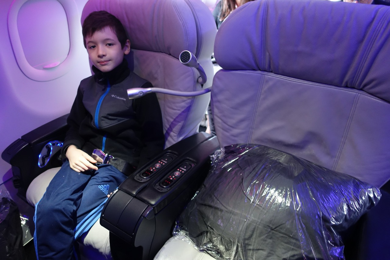 Seats 1D and 1F, Virgin America First Class Review
