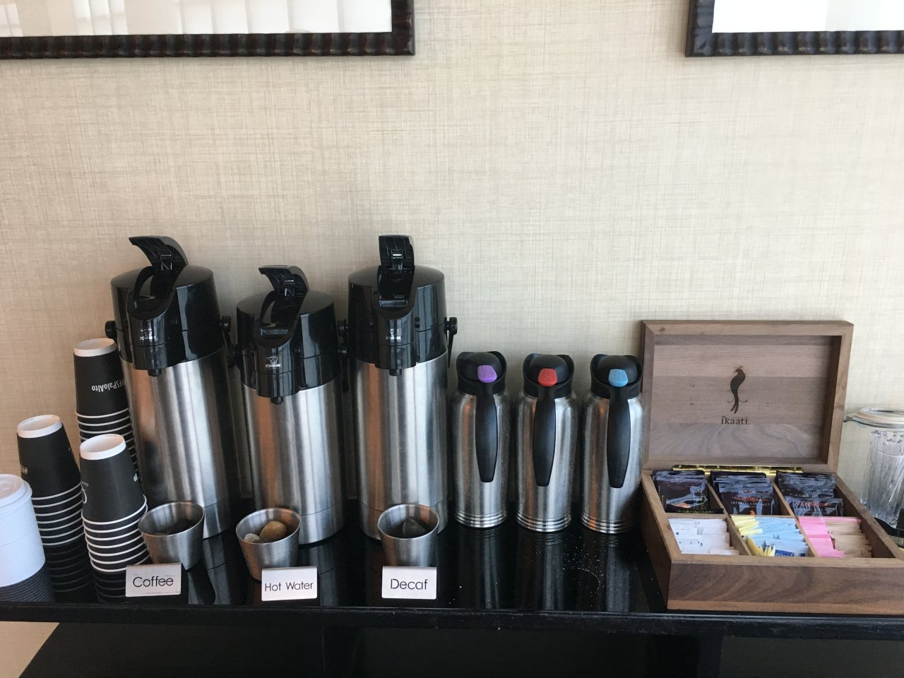 Complimentary Morning Coffee and Tea