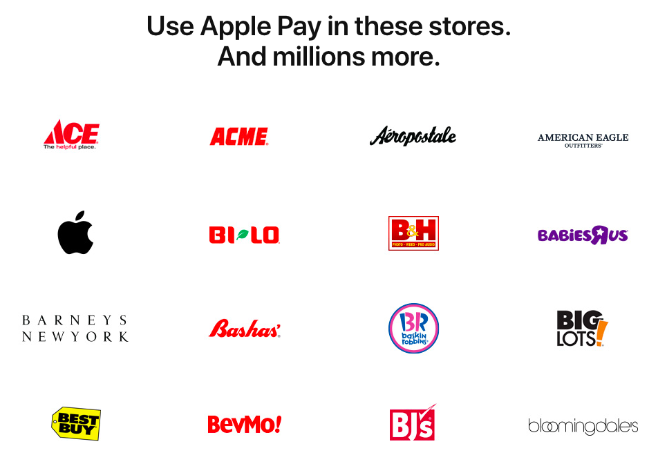 Apple Pay: Which Stores Accept