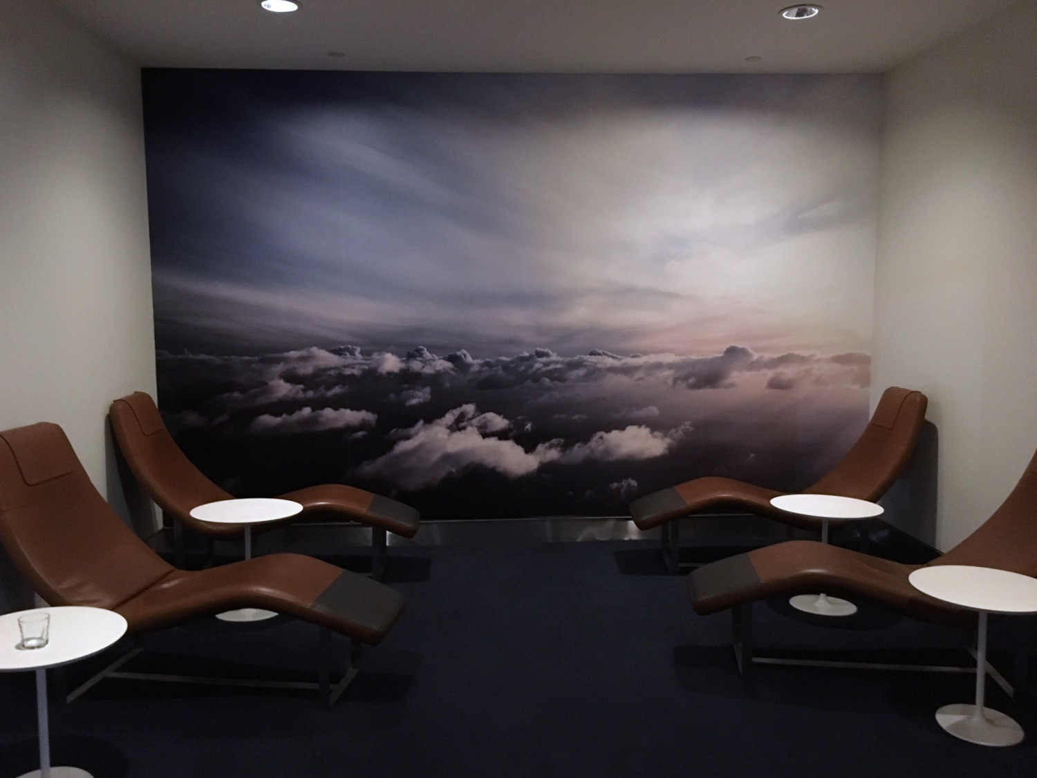 Relaxation Chairs, JFK Lufthansa Business Lounge Review
