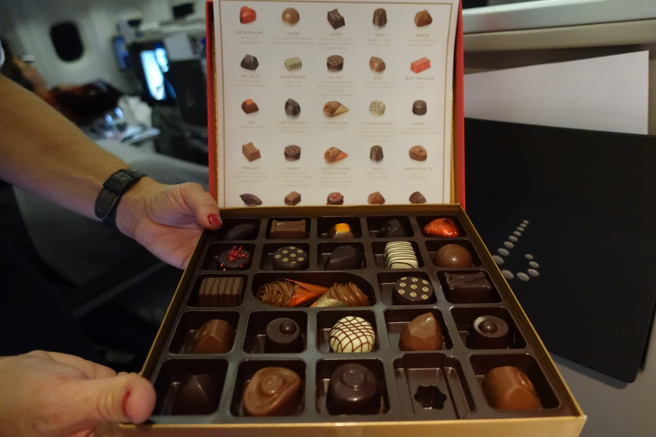 Neuhaus Chocolates, Brussels Business Class Review