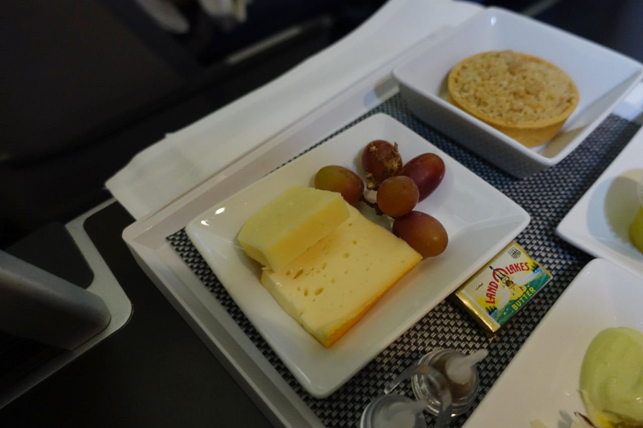 Cheeses and Dessert, Brussels Business Class