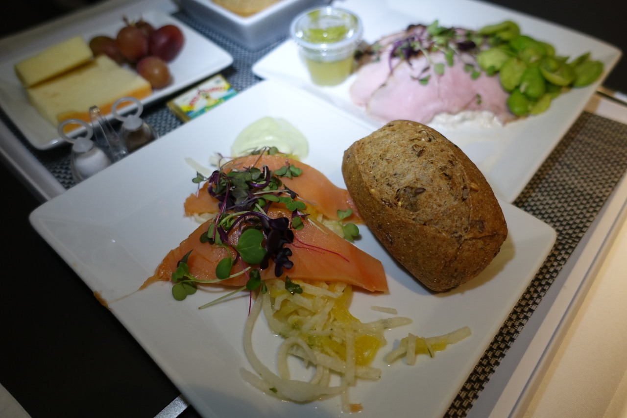 Balik Smoked Salmon, Brussels Business Class Review