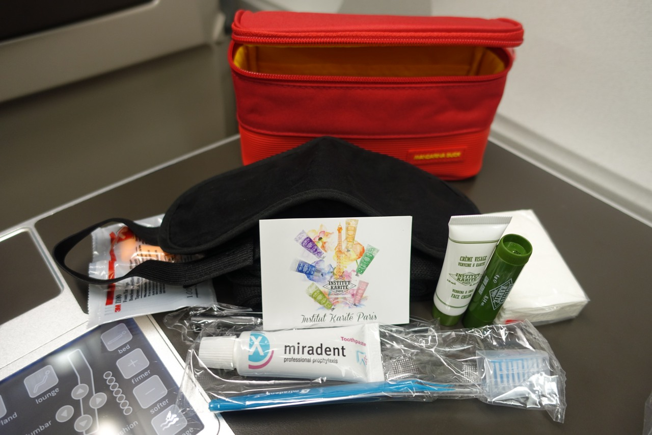 Brussels Business Class Amenity Kit