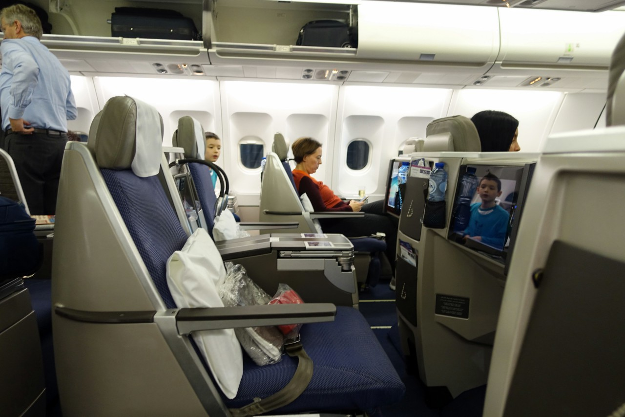 Seats 3D and 3F, Brussels Business Class Review
