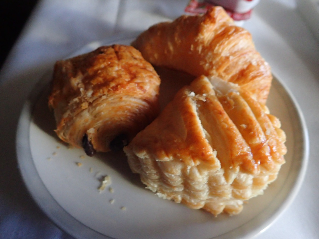 Breakfast Pastries, Singapore A380 Business Class