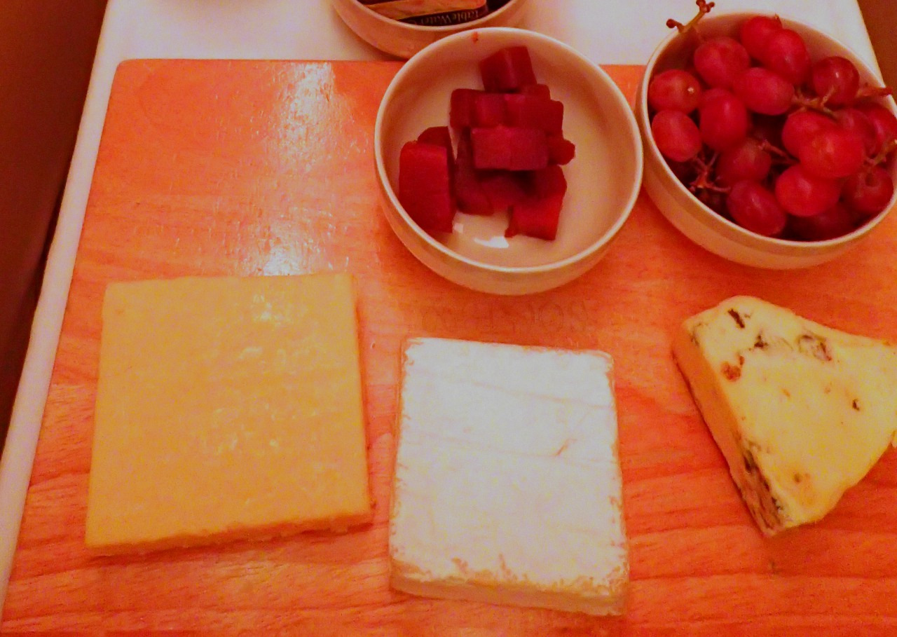 Cheese, Singapore A380 Business Class Review