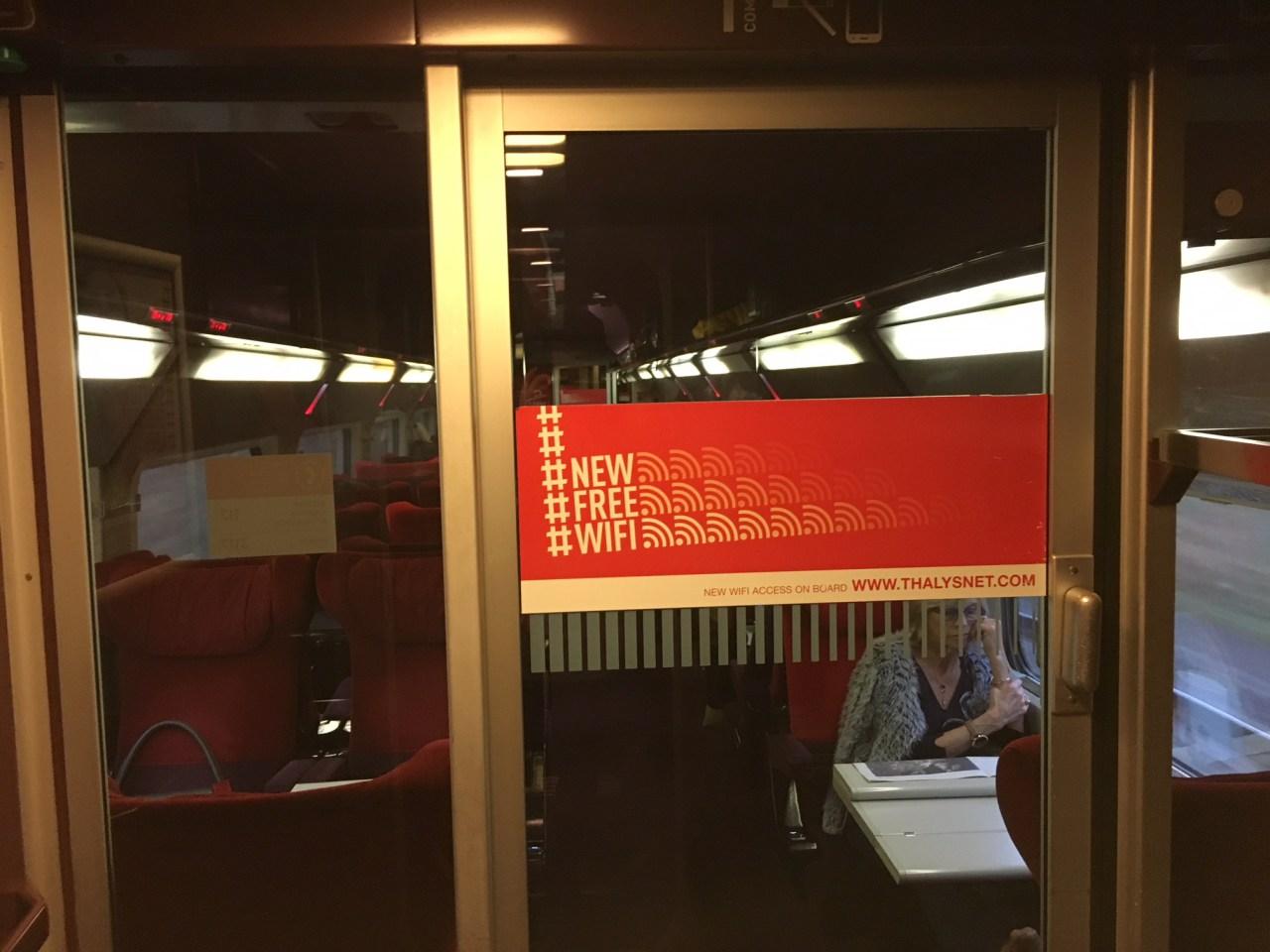 Thalys: Free WiFi