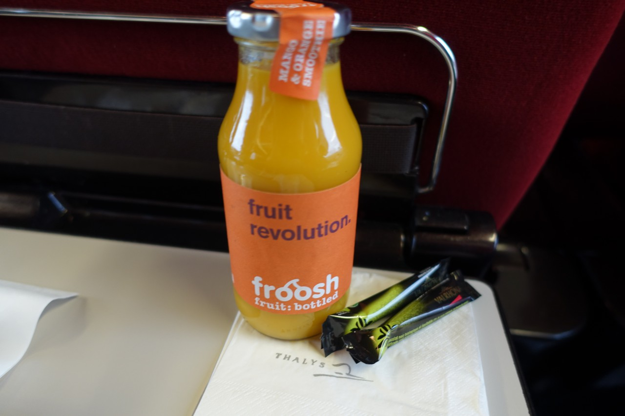 Froosh Smoothie, Thalys
