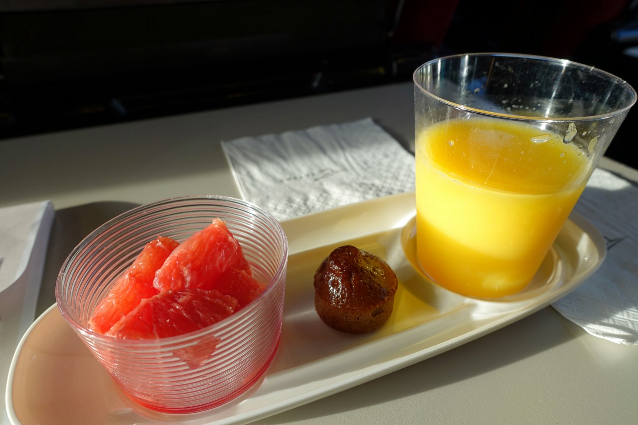 Thalys First Class Morning Snack