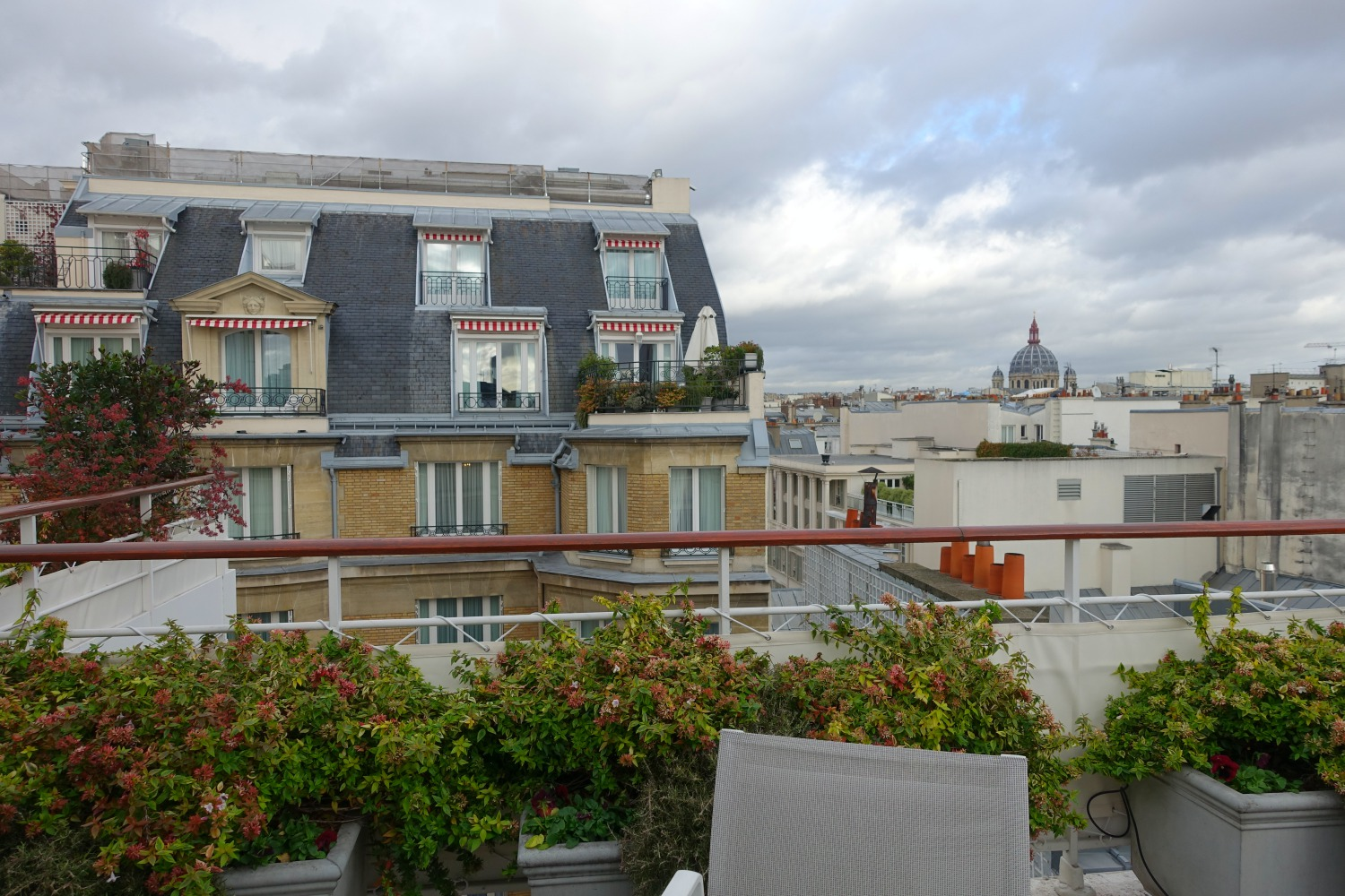Pool Terrace, Le Bristol Paris Hotel Review