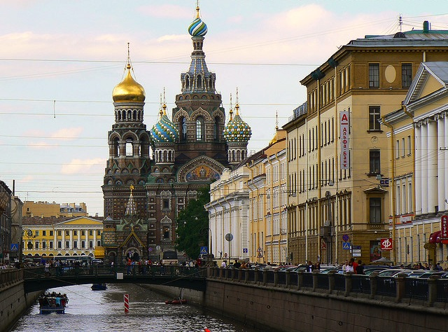 A beautiful view, St. Petersburg, Russia