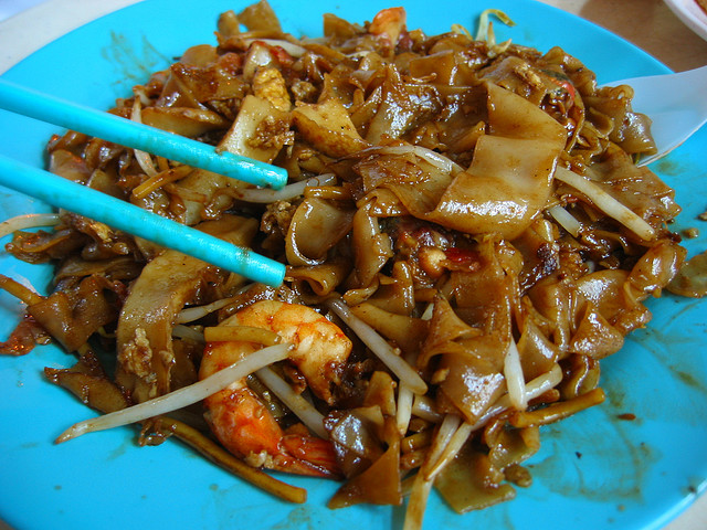 Char Kway Teow from a hawker, Singapore