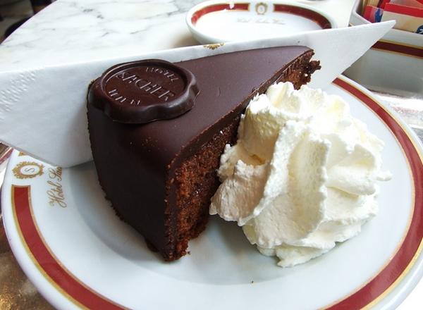 Sacher Torte, Hotel Sacher, Vienna