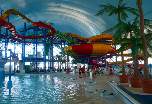 Fallsview Waterpark, Niagara Falls with Kids