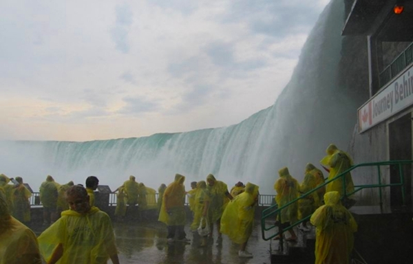 Journey Behind the Falls, Niagara Falls with Kids