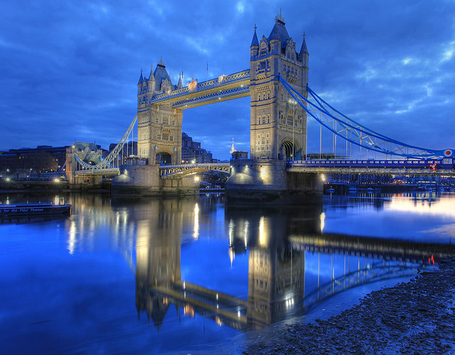 London Bridge, one of many iconic spots in the city.