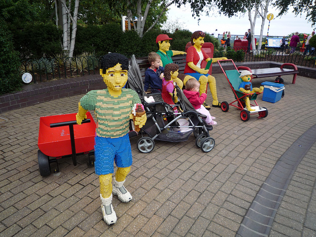 The fun at LEGO LAND, London