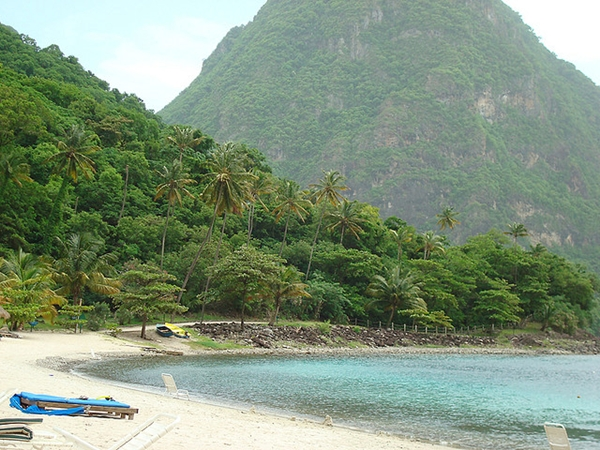 Jalousie Plantation Beach, St. Lucia with Kids