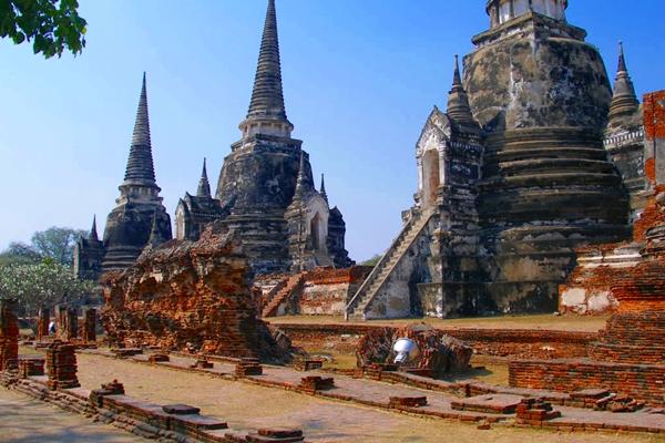 Wat Phra Si San Phet, Ayutthaya, Thailand