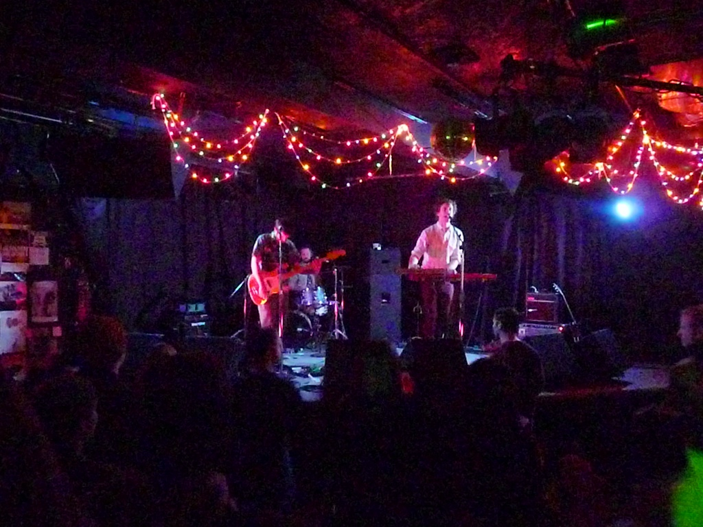 Live music at the Empty Bottle, Chicago
